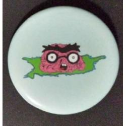 Brain Nerd Button