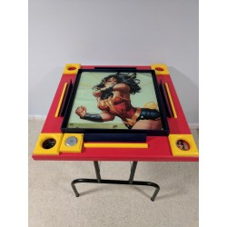 Custom Gaming Tables- Wonder Woman