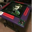 Custom made Purple Joker Game Table