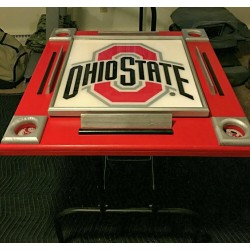 Custom Made Game Table - Ohio State