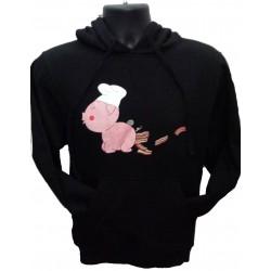 Chef Bacon Hooded Sweatshirt